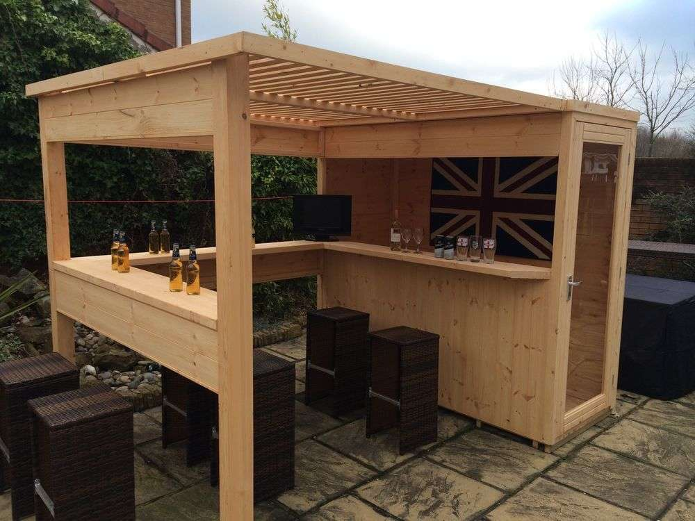 diy outdoor bar ideas 54 decoratoo. Black Bedroom Furniture Sets. Home Design Ideas