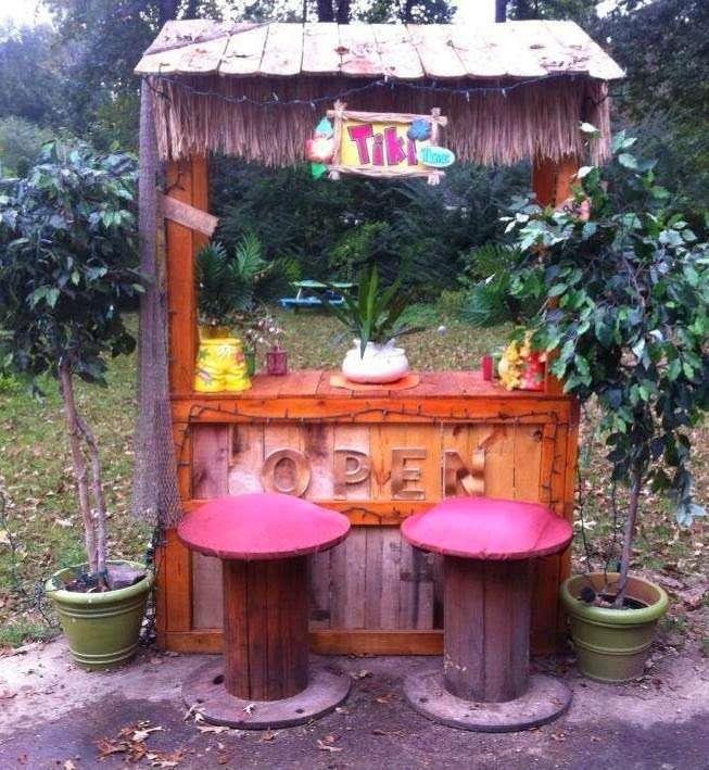 DIY OUTDOOR BAR IDEAS 76