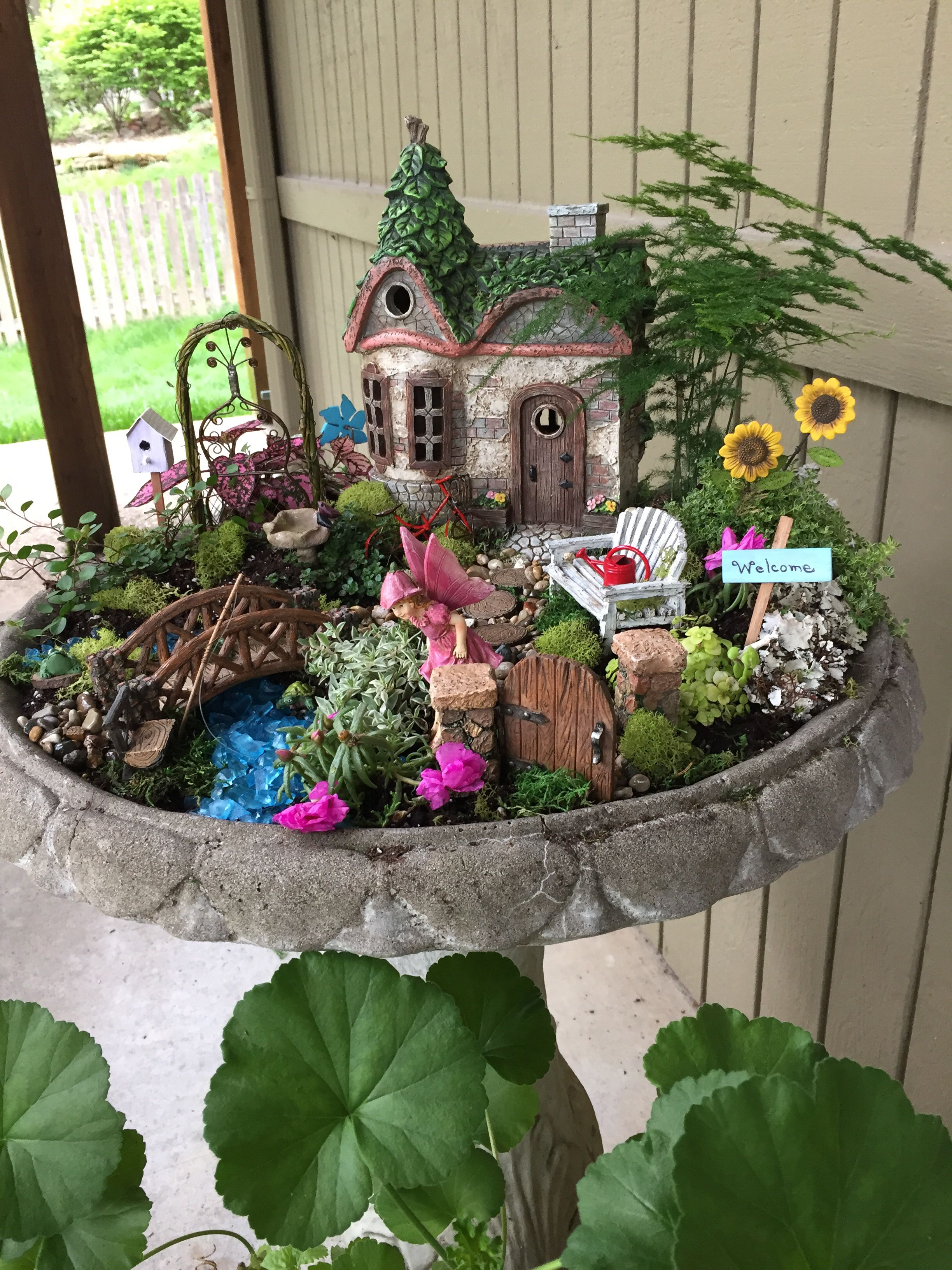 Magical And Best Plants DIY Fairy Garden Inspirations 61 ...