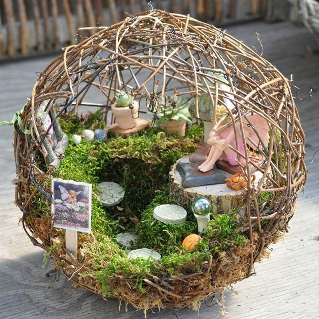 Magical Fairy Garden Designs: Magical And Best Plants DIY Fairy Garden Inspirations 9