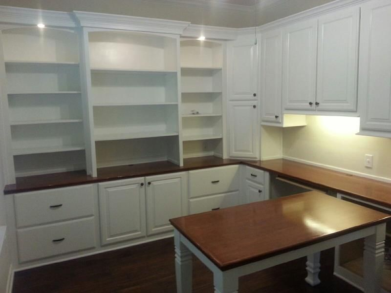 Built In Furniture Ideas: Office Built In Cabinets Ideas 2