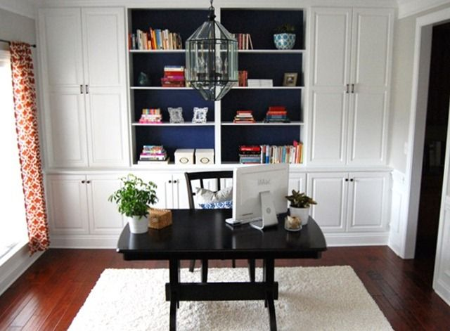 Built In Furniture Ideas: Office Built In Cabinets Ideas 3