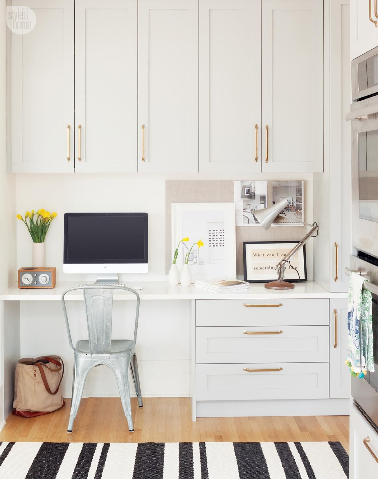 Office Built In Cabinets Ideas 45 - decoratoo