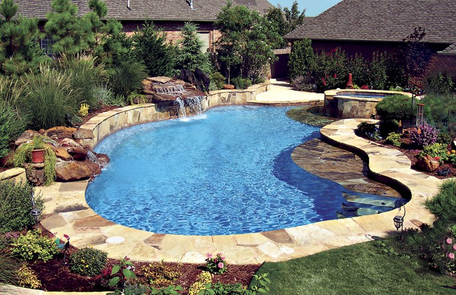 beautiful backyards with pools 137 decoratoo. Black Bedroom Furniture Sets. Home Design Ideas