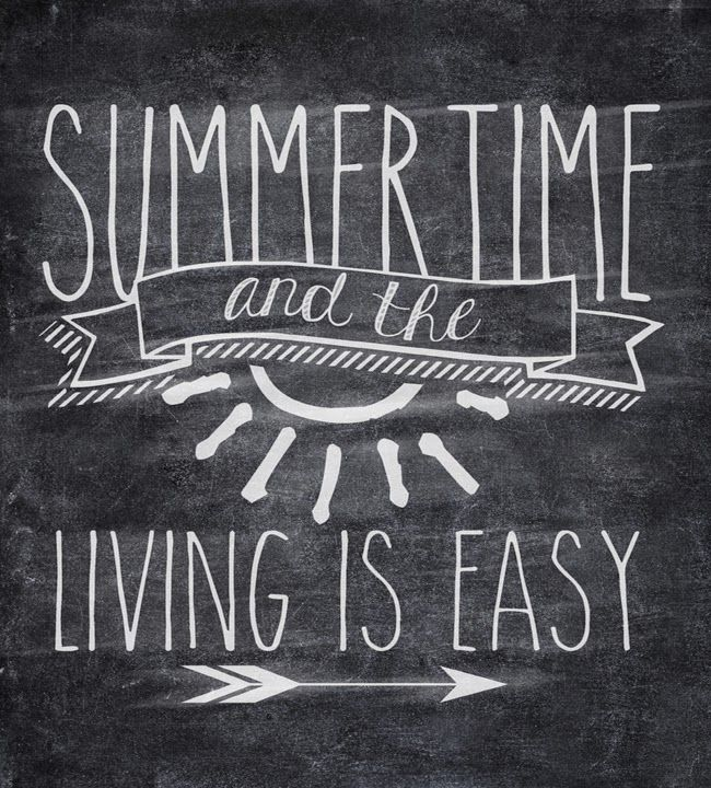 Blackboard Artwork Ideas: Summer Chalkboard Art 11