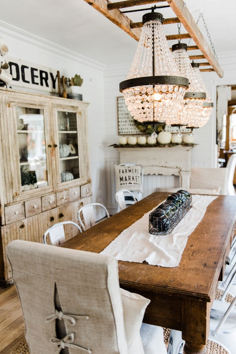 Dining room ideas farmhouse 74 decoratoo for Farmhouse dining room ideas
