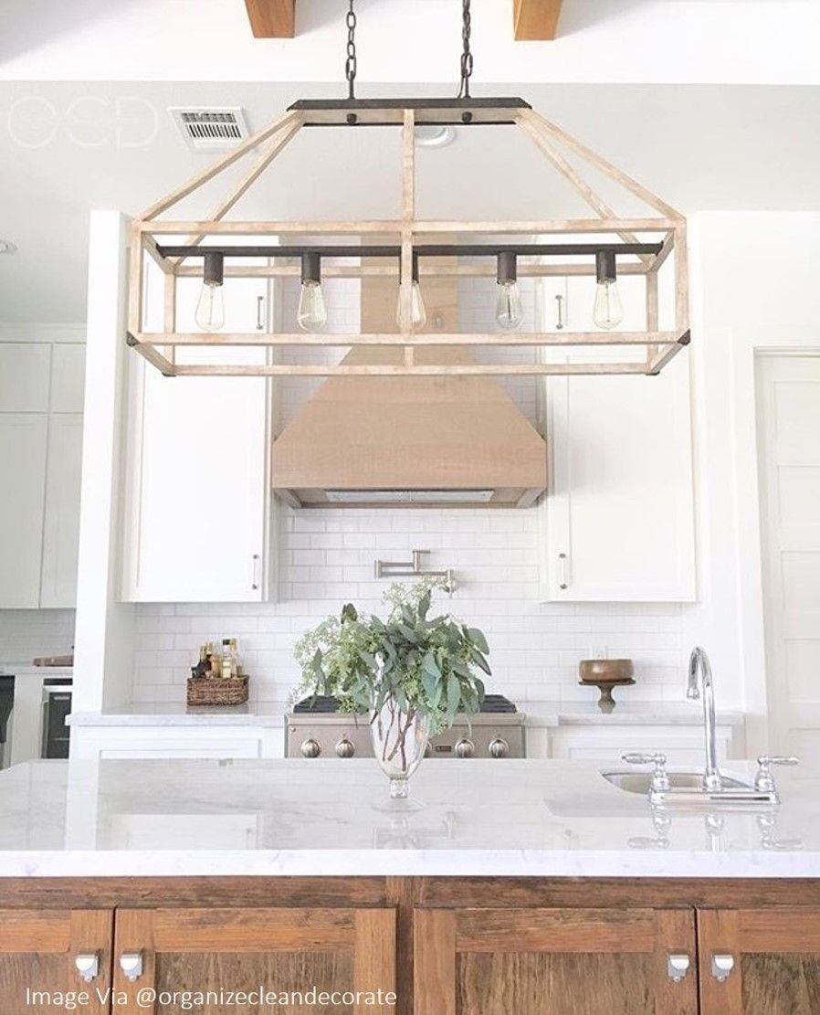 Farmhouse Kitchen Chandelier: Modern Farmhouse Decor 36
